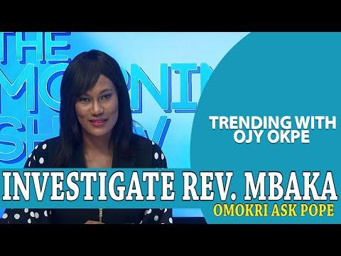 Reno Omokri Asks Pope To Investigate Rev. Mbaka Trending w Ojy Okpe