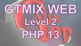 دورة تصميم و تطوير مواقع الإنترنت PHP - د 13- المصفوفه Array