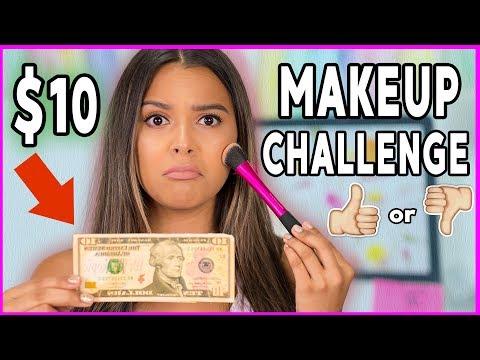 Full Face DRUGSTORE Makeup UNDER 10 Challenge Poop or Woop Natalies Outlet