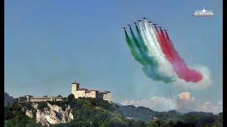 Frecce Tricolori Prove Arona Air Show 2018