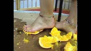 arance feet crush