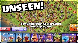 TOWN HALL 12: The BEST Clash of Clans Update Concept Art YET!
