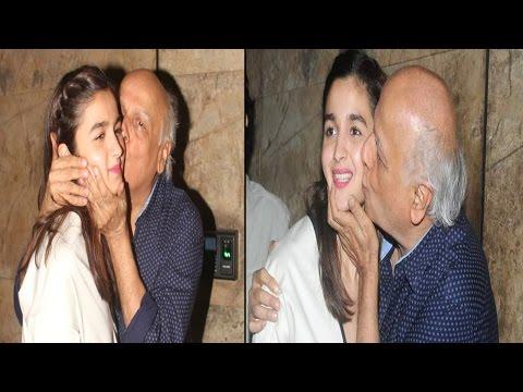 Xxx Mp4 पिता की कुछ इस तरह मेज़बानी करेंगी आलिया Aaliya To Host Father Mahesh Bhatt 3gp Sex