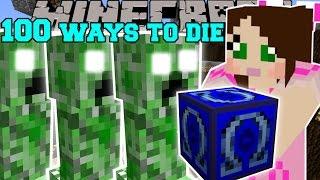 Minecraft: OMEGA LUCKY BLOCK 100 WAYS TO DIE - Lucky Block Mod - Modded Mini-Game