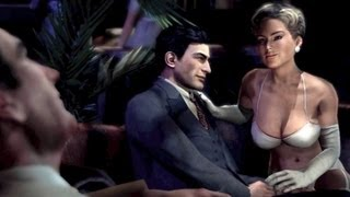 Ganster Vito and a Sexy Whore in Cathouse: Stip Club with Hot Hookers (Mafia 2 Girls)