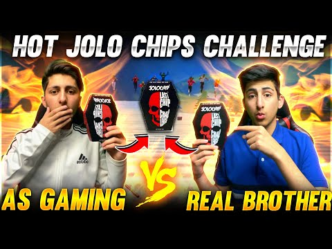 Jolo Chip Challenge 🥵With My Brother In Free Fire Gone Wrong Garena Free Fire