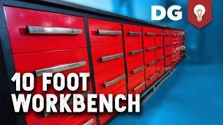 Best CHEAP Workbench You Can Buy Online? 10 ft of Heavy Duty Steel