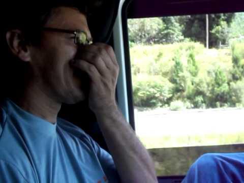 viajando de caminhão com minha esposa