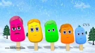 Ice Cream Finger Family   Finger Family Song   3D Animation Nursery Rhymes & Songs for Children