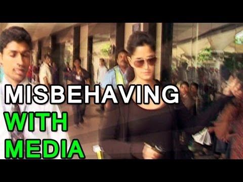 Katrina Kaif misbehaves with the media