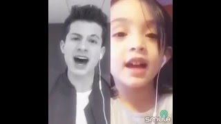 Smule Karaoke duet (One Call Away-Charlie Puth)