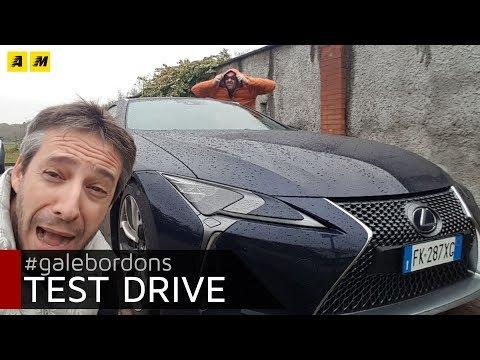 Lexus LC500h Sgommate sgommate e poi via con l ibrido