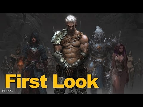 watch Bless Online Gameplay First Look - MMOs.com