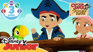 Captain Jake and the Neverland Pirates | Dread the Evil Pharaoh | Disney Junior UK