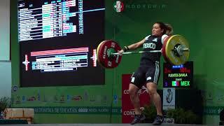 Aremi Fuentes (75) - 95kg & 101kg Snatches @ 2016 University Worlds