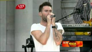 Maroon 5 - She will be loved- Live