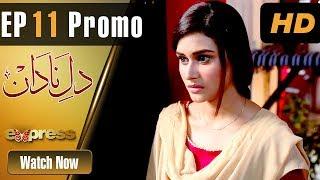 Drama | Dil e Nadaan - Episode 11 Promo | Express Entertainment Drama | Abid Ali, Zaheen Tahira