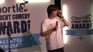 Alex Oliver: Chortle Student Comedy Award 2014 final