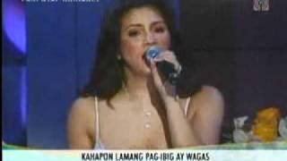 Regine sings PS I Love You and Kahapon Lamang at Sharon.flv