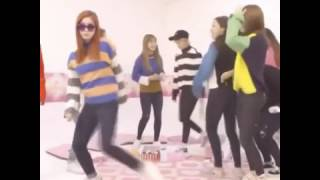 TWICE Dance playing with fire Black pink