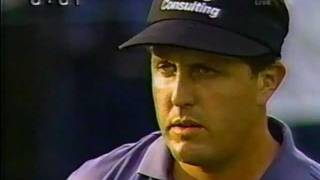 Phil Mickelson great shot 2002 US OPEN