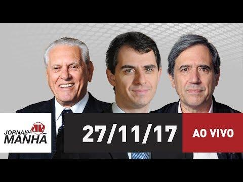 Jornal da Manhã  - 27/11/17