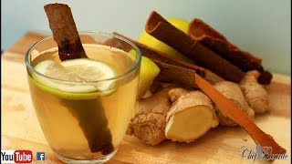 How To Lose Weight With Cinnamon Tea Ginger Lemon Honey Drink   Recipes By Chef Ricardo