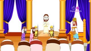 Saint John The Apostle | Disciples Of Jesus | New Testament | Bible Stories For Kids | Holy Tales