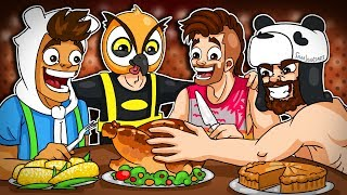 A Very Corny Thanksgiving! - Gmod Deathrun!