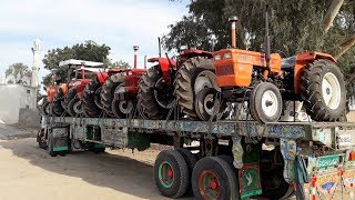 Delivery of New Holland 640, Ghazi, 480 Tractors