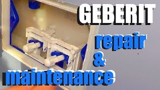 Geberit toilet repair and maintenance - How to