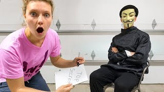 GRACE SHARER INTERVIEWS THE GAME MASTER!! (Top Secret Mystery Clues Solved)