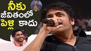 Nagarjuna Hilarious Punch To Anchor Ravi   Rarandoi Veduka Chuddam   TFPC