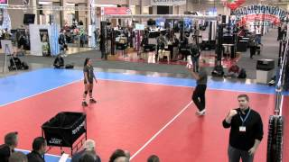 Training Visual Skills in Serve Receive Passing