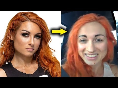 10 WWE Women Who Look Different in Real Life 2019 Becky Lynch with No Make Up