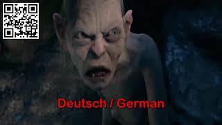 Lord of the Rings Gollum - MY PRECIOUS - Multilanguage