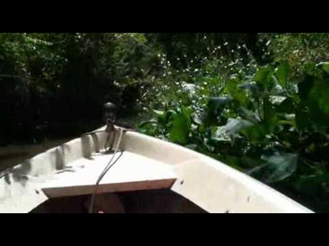 Travesía en canoa