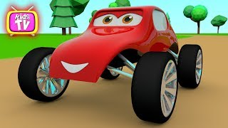 Learn colors with car for baby - 3D Cartoons for children ❤️