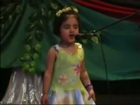 Little Afghan Girl SING & Dance Very CUTE