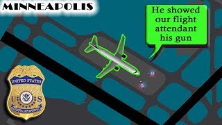 [REAL ATC] An UNRULY AIR MARSHAL forces emergency landing!