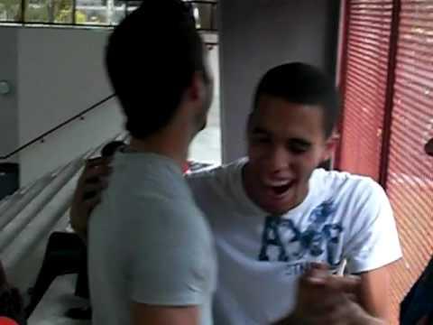 Gay Teens dance...