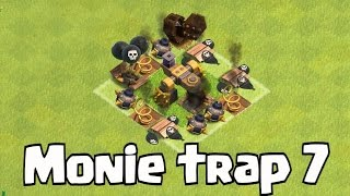 Clash Of Clans - MONIE TRAP 7 (The struggle is real)