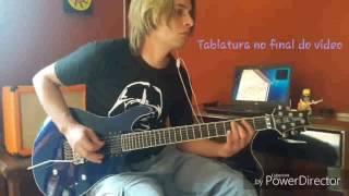 Matanza - Eu Não Gosto De Ninguém - Guitar Cover - Tablatura - aula de guitarra