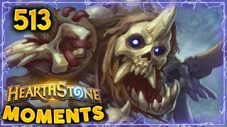 The Unraveler PogChamp!!   Hearthstone Daily Moments Ep. 513