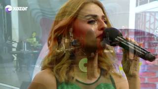 Azeri kizi Gunel, Tunar - Yeni popuri (Canli performans) 2016