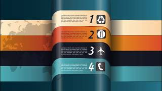 How to Create 3D Infographic Using Adobe Illustrator #FreeDownloads