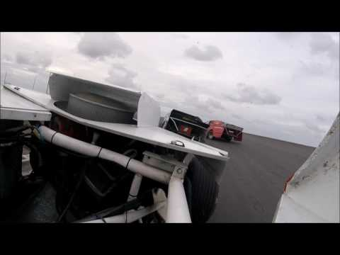 L87 Speedway in car