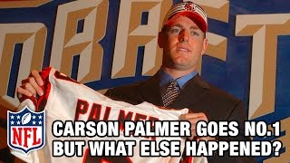 Carson Palmer goes No. 1 in 2003 NFL Draft…Beyonce makes top hit! | NFL Draft Rewind