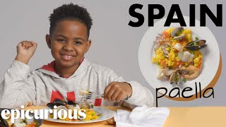 Kids Try Rice Dishes From Around The World