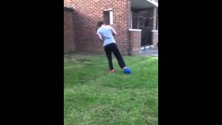 Chantel G football skills